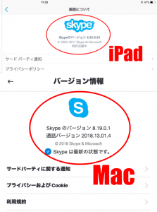 Mac・iPad用Skype2018では画面共有できない?原因と対策設定を伝授!3